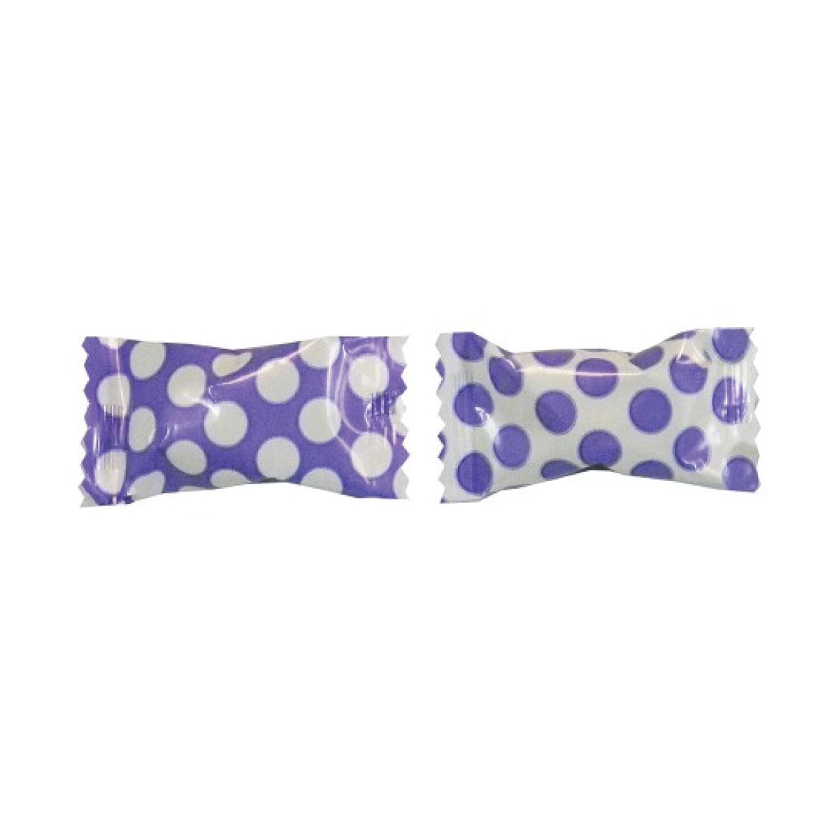 50 pieces Big Dots Royal Blue Butter Mints