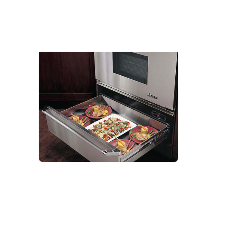 shelf x drawer drawers steel stainless of in photo dacor warming