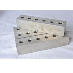 Aluminum Hard Candy Sucker Mold - 1-3/8