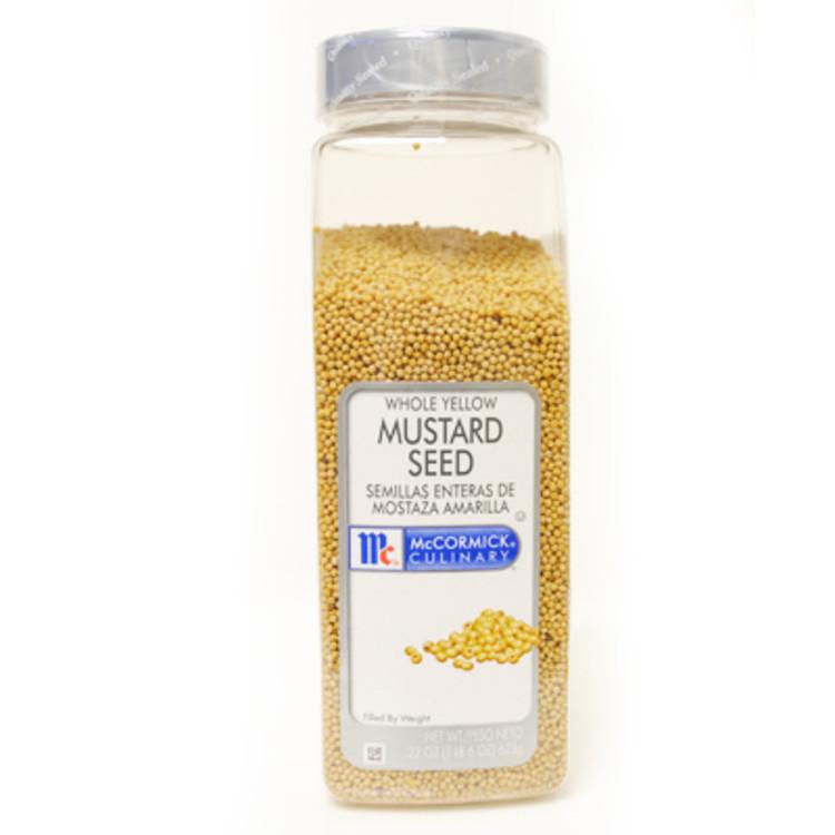 McCormick Mustard Seed - 22 oz