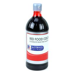McCormick Red Food Color - 1 Quart