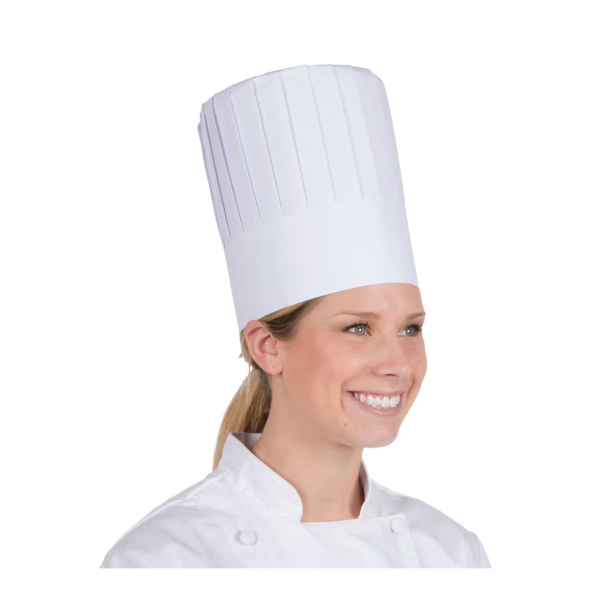 Lot Of 500pcs paper Disposable Chef Cooking Hats Free Shipping